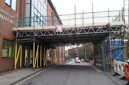 K2 Scaffolds scaffolding project in Sheffield