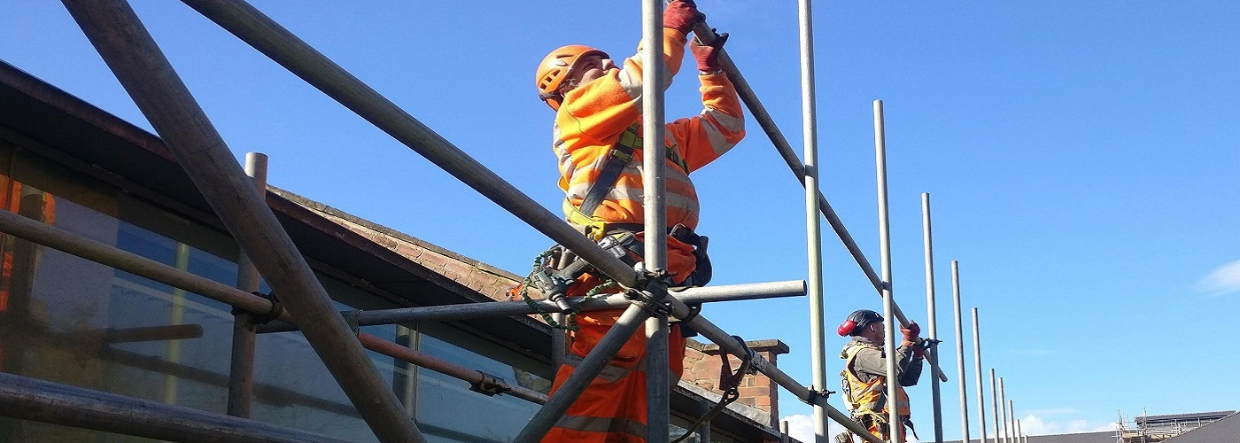 ALL OUR SCAFFOLDERS ARE QUALIFIED CISRS CARD HOLDERS
