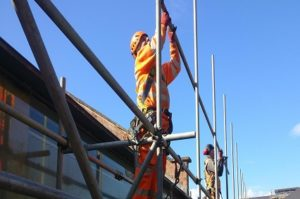 k2 scaffolding team are all CISRS card holders