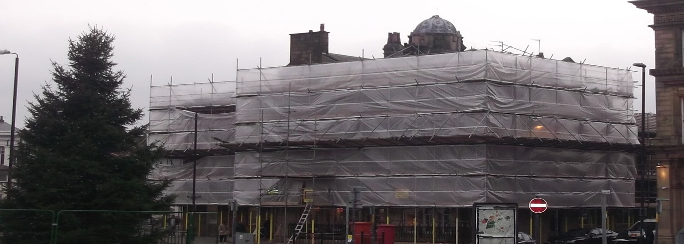 K2 Scaffolds provide scaffolding solutions for heritage projects